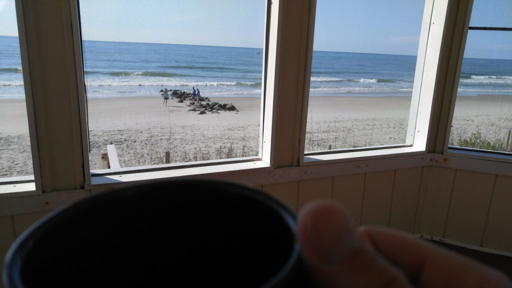 Buying a beach house: Closing the Deal. Coffee on The Beach